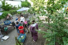 jardin ouvert